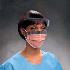 Buy Tecnol Fluidshield Procedure Face Mask (100 Case) online used to treat Isolation Supplies - Medical Conditions
