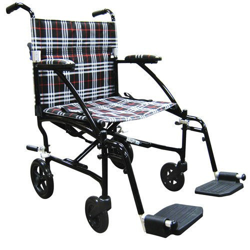 Fly-Lite Aluminum Transport Chair - Transport Wheelchairs - Mountainside Medical Equipment