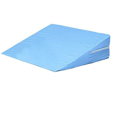 Buy Foam Bed Wedge Pillow White by Duromed | Home Medical Supplies Online