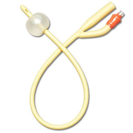 Buy Flexible Foley Catheter Two-Way, Sterile, Lubricated by Dyanrex | Home Medical Supplies Online