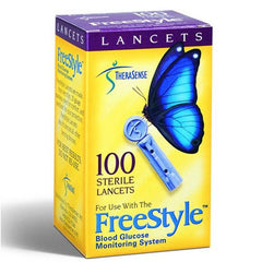 Buy Freestyle Lancets (100 Count) with Coupon Code from Abbott Laboratories Sale - Mountainside Medical Equipment