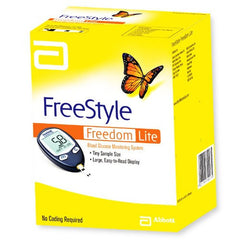 FreeStyle Lite Blood Glucose Monitoring System for Diabetes Supplies by Abbott Laboratories | Medical Supplies