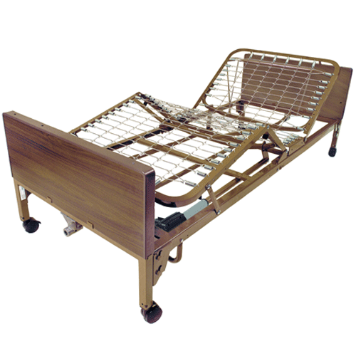 Buy Drive Medical Full Electric Hospital Bed by Drive Medical | SDVOSB - Mountainside Medical Equipment