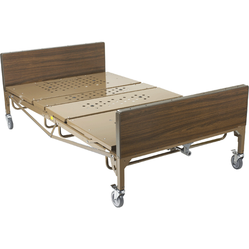 Drive Medical Full Electric Bariatric Hospital Bed - Hospital Beds - Mountainside Medical Equipment