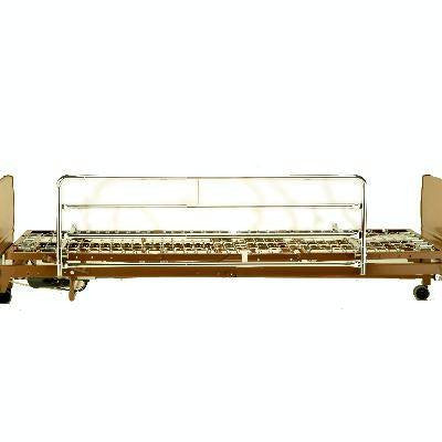 Replacement Full-Length Hospital-Style Bed Rails, 1-Pair - Parts - Mountainside Medical Equipment
