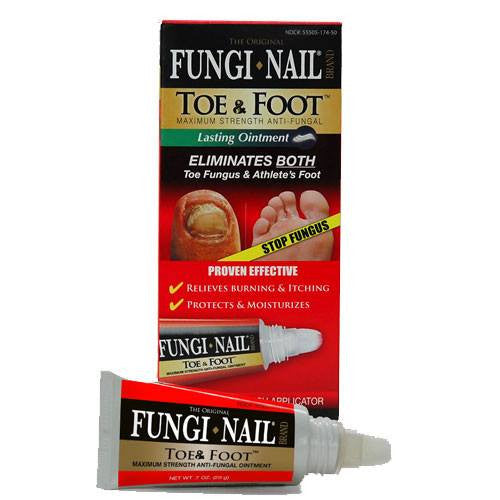 Fungi-Nail Toe and Foot Ointment