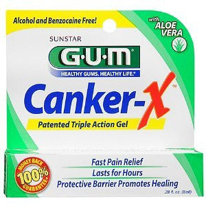 Buy G-U-M Canker Sore X Pain Relief Gel by Sunstar Americas online | Mountainside Medical Equipment
