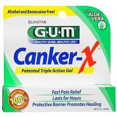 Buy G-U-M Canker Sore X Pain Relief Gel by Sunstar Americas | SDVOSB - Mountainside Medical Equipment