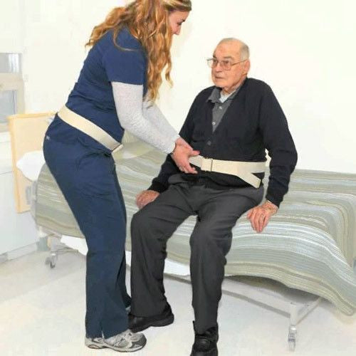 Buy Transfer Gait Belt with Adjustable Buckle online used to treat Gait Belt - Medical Conditions