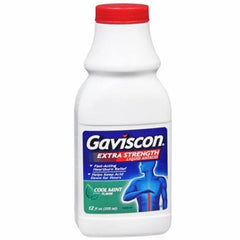 Gaviscon Extra Strength Liquid Antacid for Heartburn by GlaxoSmithKline | Medical Supplies