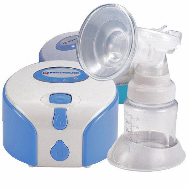 GentleFeed Single Cup Battery-Powered Breast Pump System (BPA Free)