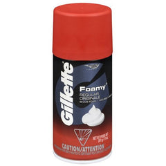 Buy Gillette Foamy Shaving Cream Foam, Regular by Procter & Gamble | SDVOSB - Mountainside Medical Equipment