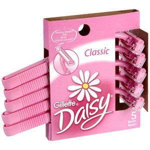Buy Gillette Daisy Plus Disposable Razors, 5 Pack by Gillette from a SDVOSB | Razors