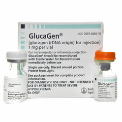 Buy Glucagen Diagnostic Kit (Glucagen rDNA Orgin) for Injection online used to treat Hypoglycemia Treatment - Medical Conditions