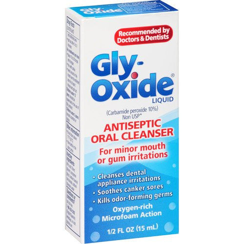 Buy Glyoxide Anteseptic Oral Cleansing Rinse by MedTech | SDVOSB - Mountainside Medical Equipment