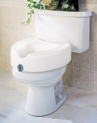 Buy Locking Raised Toilet Seat by Guardian Mobility from a SDVOSB | Raised Toilet Seats