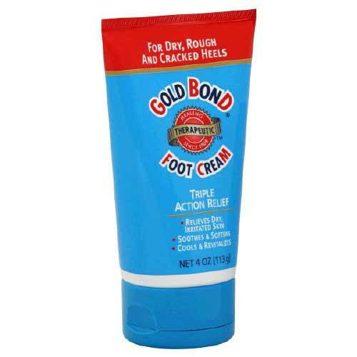 Buy Gold Bond Foot Cream 4 oz online used to treat Antifungal Medications - Medical Conditions