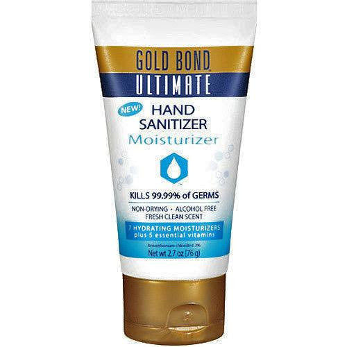 Gold Bond Ultimate Hand Sanitizer Moisturizer 2.7 oz for Hand Sanitizers by Chattem | Medical Supplies