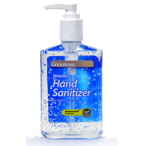 Buy Good Sense Waterless Hand Sanitizer 8 oz online used to treat Hand Sanitizers - Medical Conditions