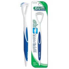Buy GUM Dual Action Tongue Cleaner online used to treat Oral Care Products - Medical Conditions