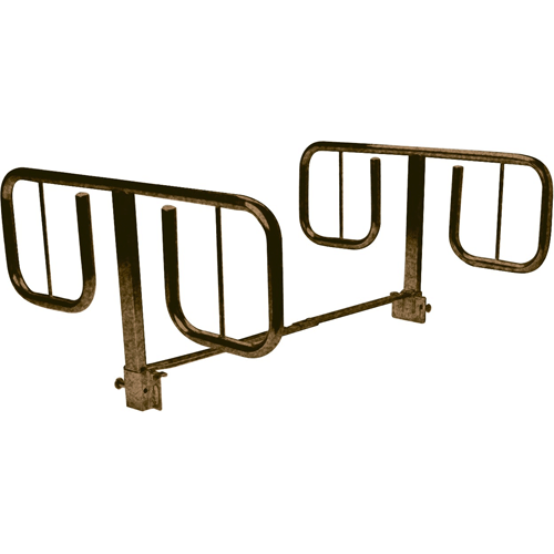 "Drive Medical Half Length ""T"" Style Bed Rails - Hospital Beds - Mountainside Medical Equipment"