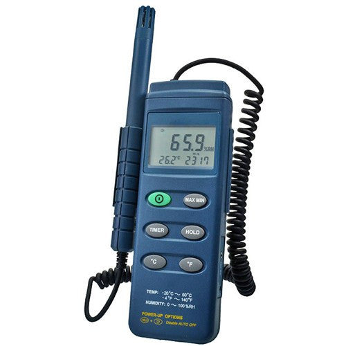 Buy Handheld Hygrometer Humidity Temperature Meter online used to treat Thermometers - Medical Conditions