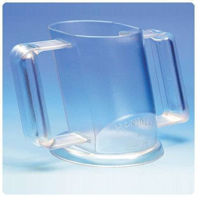Buy Angled Handy Cup by Patterson Medical from a SDVOSB | Dining Aids