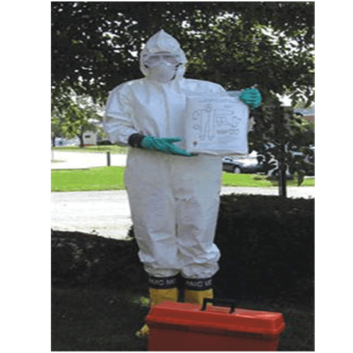 Hazmat Protective Clothing Suit Pack