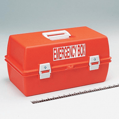 Buy Emergency Box with Locking Security Seal Eyelets online used to treat First Aid Supplies - Medical Conditions