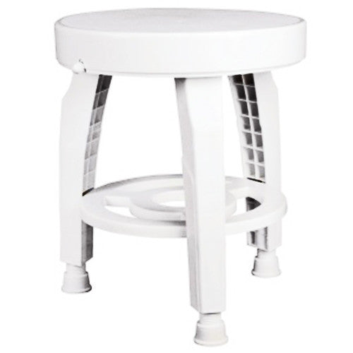 HealthSmart 360 Swivel Bath Stool Seat with BactiX