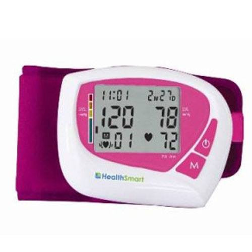 HealthSmart Womens Wrist Blood Pressure Monitor