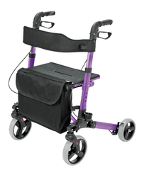 Buy HealthSmart Gateway Folding Rollator by Briggs Healthcare/Mabis DMI from a SDVOSB | Rollators and Walkers