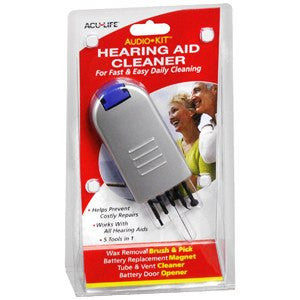Buy Hearing Aid Cleaner kit by AcuLife | SDVOSB - Mountainside Medical Equipment
