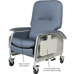 Buy Lumex Heated Medical Chair with SilverGuard Fabric by Grahamfield from a SDVOSB | Geri Chairs & Recliners