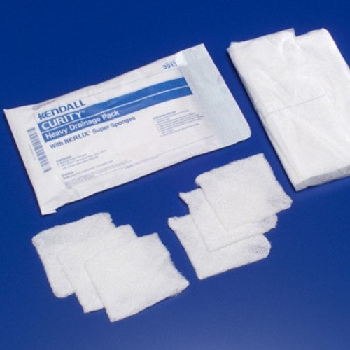 Curity Heavy Drainage Pack - Gauze Pads - Mountainside Medical Equipment