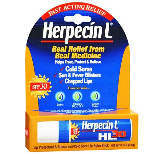 Buy Herpecin-L Cold Sore Lip Balm by Chattem from a SDVOSB | Over the Counter Drugs