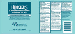 Buy Hibiclens Chlorhexidine Gluconate Skin Antimicrobial 8 oz by Mölnlycke Health Care | Home Medical Supplies Online