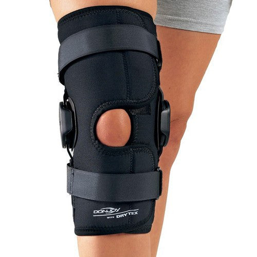 8c76f1c489 Buy Hinged Air Donjoy Knee Brace online used to treat Knee Braces - Medical  Conditions