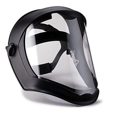 Uvex Bionic Full Face Shield with Suspension, Matte Black