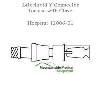 Hospira LifeShield Y-Connector 50/Case - IV & Irrigation - Mountainside Medical Equipment