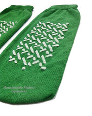Buy Dynarex Non Skid Slipper Socks Medium Green online used to treat Non Skid Socks - Medical Conditions
