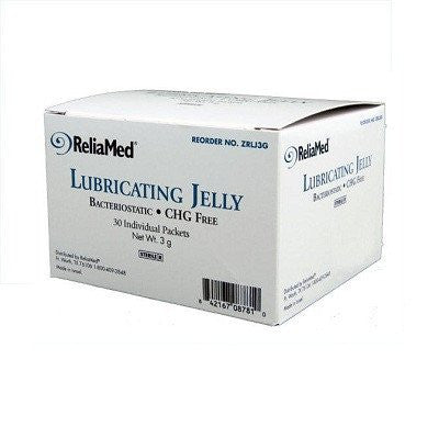 Buy ReliaMed Lubricating Jelly 3g Packets 30 Count by ReliaMed online | Mountainside Medical Equipment