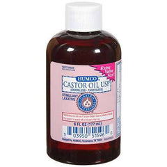 Buy Humco Castor Oil USP 6 oz by Humco from a SDVOSB | Laxatives