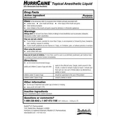 Buy Hurricaine Oral Pain Anesthetic Liquid, Wild Cherry by Beutlich wholesale bulk | Dentists