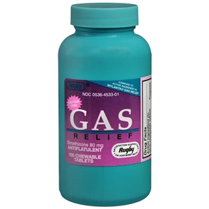 Buy Gas Chewable Tablets, Peppermint Flavor, 100 Tablets online used to treat Gas and Bloating Relief - Medical Conditions