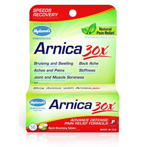 Hyland's Arnica 30X Pain Relief Tablets 50/Bottle