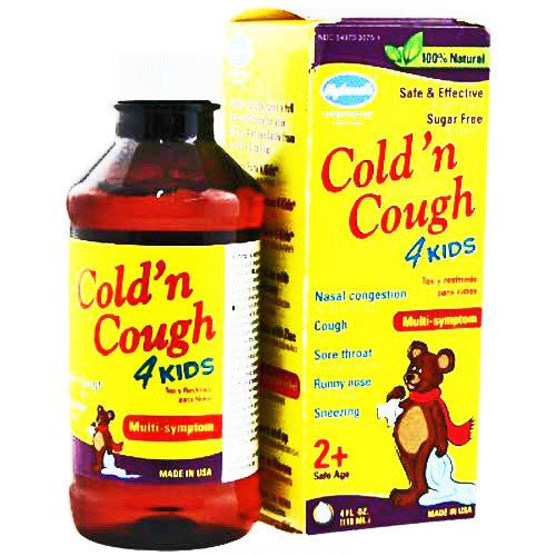 Buy Hylands Cough and Cold Medicine 4 Kids 4 oz online used to treat Cold Medicine - Medical Conditions