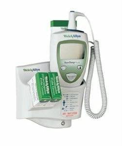 Oral Suretemp Plus Electronic Thermometer w/ Wall Mount