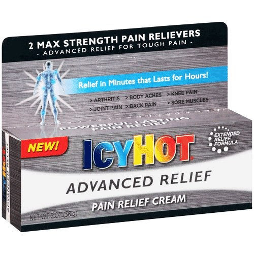 Icy Hot Advanced Relief Pain Cream 2 oz