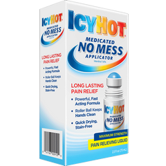 Buy Icy Hot Medicated No Mess Applicator, 2.5 oz online used to treat Pain Management - Medical Conditions